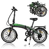Bicicleta eléctrica, 350W 36V 10AH/7.5AH Velocidad máxima 25 km/h 3 Modos de conducción,Resistencia 50-55 kilómetros, para Adolescentes y Adultos,Bici Electricas Adulto,