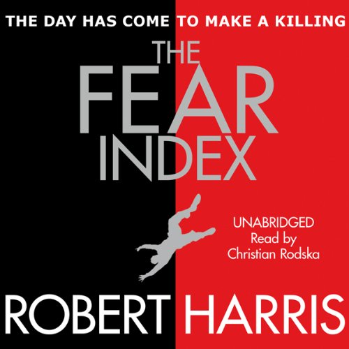 The Fear Index audiobook cover art