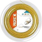 pacific Tennissaite Dura Tech - 200m-Rolle, gold, 1.27mm/16L, PC-2132.74.01