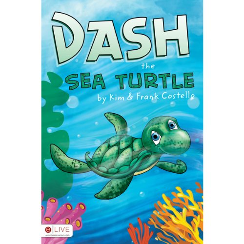 Dash the Sea Turtle audiobook cover art