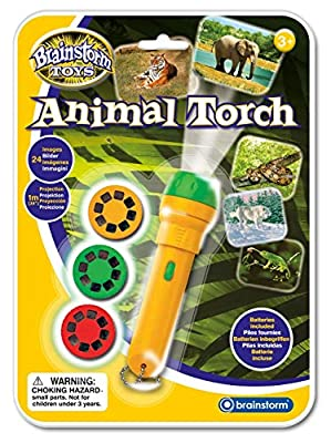 Brainstorm Toys Animal Torch and Projector by Brainstorm Ltd