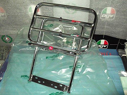 Portaequipajes trasero cromado para Piaggio Vespa PX-PE/PX DISCO/PX LML Star 2T 4T