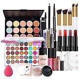 Oyria Set de Maquillaje Profesional Organizador de Maquillaje de Viaje portátil Caja de Almacenamiento Kit de cosméticos Maquillaje Multiusos Kit de Maquillaje Todo en uno Kit de Inicio cosmético