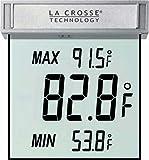 La Crosse Technology WS-1025 Detachable Bracket and Records MIN/MAX Temp & Auto Reset Digital W…