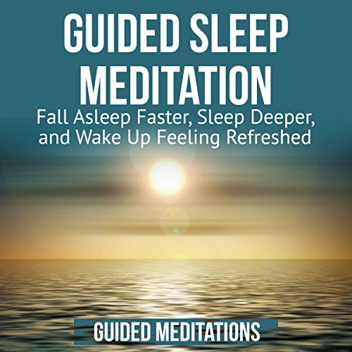 Guided Sleep Meditation audiobook cover art