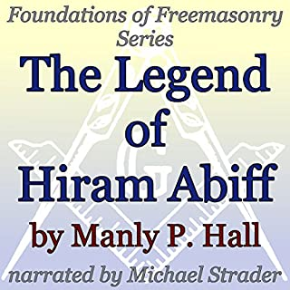 The Legend of Hiram Abiff audiobook cover art