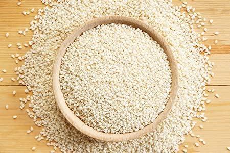Trisha Roods Fresh Organic White Sesame Our shop most popular Bargain Till G 900 Seed Safed