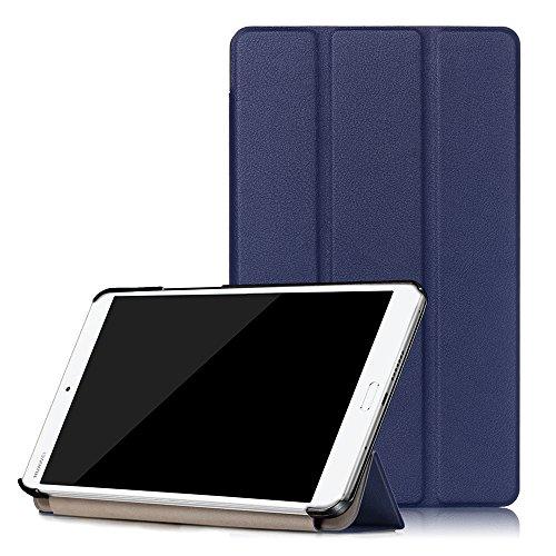 WindTeco Huawei MediaPad M3 8.4 Funda - Ultra Delgado y Ligero Carcasa Smart Soporte Case con Función de Auto Sueño/Estela para Huawei MediaPad M3 8,4 Pulgadas Tablet (2016)