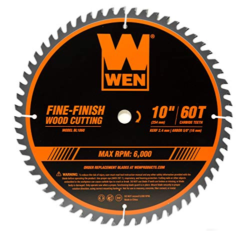 WEN BL1060 10-Inch 60-Tooth Fine-Finish...