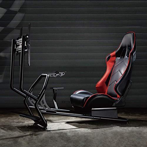 FOREST G3 Gaming-Stuhl, Racing-Cockpit-Simulator mit TV-Halterung und Gangschaltungshalterung