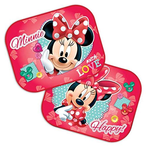 Lot de 2 pare-soleil Disney Minnie Mouse 44 x 35 cm
