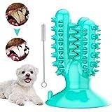 Mroobest Spazzolini per Cani, Spazzolini Denti Cane, Dog Brushing Stick, 360° Massaggiatore per la Pulizia dei Denti dei Cani, Cura Dentale del Giocattolo da Masticare in Gomma Non Tossica
