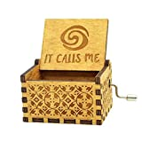 Sooye Moana Music Box- Upgraded Version Antique Carved Hand Crank...