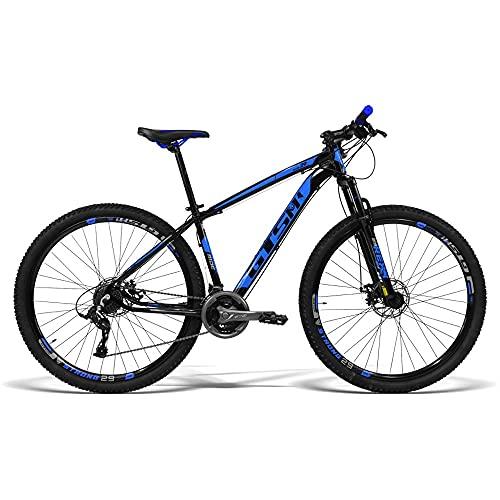 Bicicleta GTS Aro 29 Freio a Disco Câmbio Traseiro Gtsm1 TSI 21 Marchas e Amortecedor  GTS M1 Ride New TSI