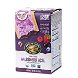 Nature's Path Organic Toaster Pastries, Frosted Wildberry Acai, 6 Count...