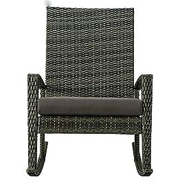 Chaise longue salon Chaise longue, Rotin Garden Rocking Chair Chaise Salon Salon Chaise Chaise à la maison Meubles…