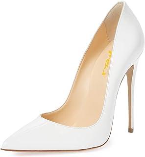 Bokun Women Thick Heel Pumps Women Causal Shoes Slip On Women Heels