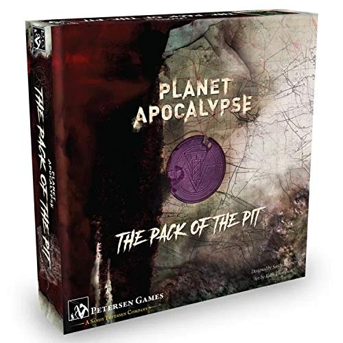 Boardgame Planet Apocalypse: Pack of The Pit Expansion - English Version