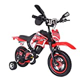 Children's Bicycle Boy Girl Freestyle Bicycle 12 Inch with Flash Assist Wheel & Comfortable Saddle Kids Dirt Bike for 2-9 Year Old