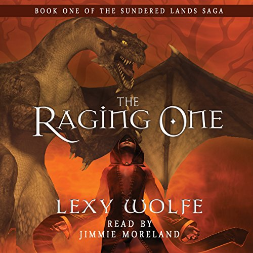 The Raging One audiobook cover art