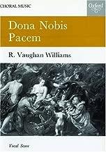 Best vaughan williams dona nobis pacem sheet music Reviews