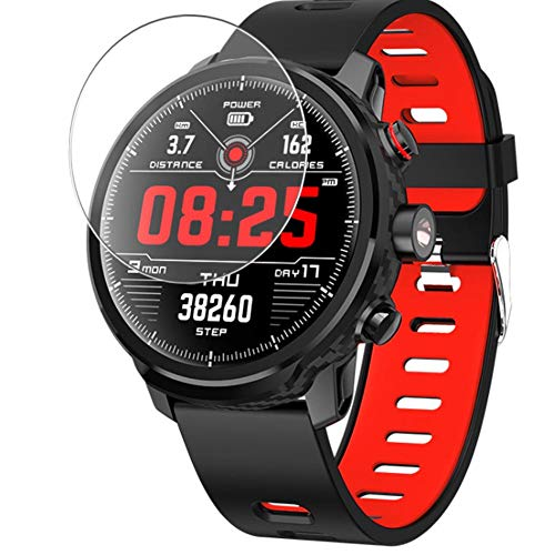 Vaxson 3 Stück 9H Panzerglasfolie kompatibel mit Padgene L5 smartwatch Smart Watch, Panzerglas Schutzfolie Displayschutzfolie Bildschirmschutz