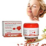 HuntGold Wolfberry bayas de Goji Crema Facial Antiarrugas Hidratante Facial Piel Cuidado Herramienta