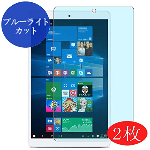 【2 Pack】 Synvy Anti Blue Light Screen Protector for Teclast X80 Plus 8' Anti Glare Screen Film Protective Protectors [Not Tempered Glass]