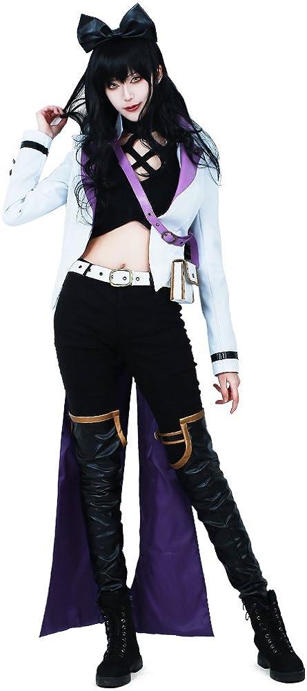 miccostumes Women's Super intense Max 71% OFF SALE Girls Black Cosplay Blake Costume Belladonna