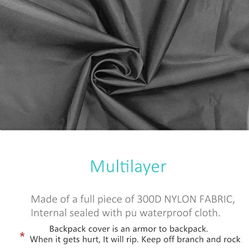 Product Image 1: Joy Walker Backpack Rain Cover Waterproof Breathable Suitable for Hiking/Camping/Traveling(for 40-55L Backpack)