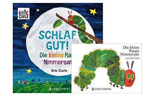 Buchspielbox Die kleine Raupe Nimmersatt (Pappbilderbuch) + Die kleine Raupe Nimmersatt: Schlaf gut!