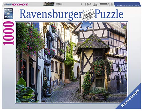 Ravensburger Puzzle 15257 - Egisheim im Elsass - 1000 Teile Puzzle für Erwachsene und Kinder ab 14 Jahren
