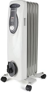 comprar comparacion Orbegozo RA 1000 E, Radiador de Aceite, Construcción Modular de 5 Elementos, 1000 W, Blanco