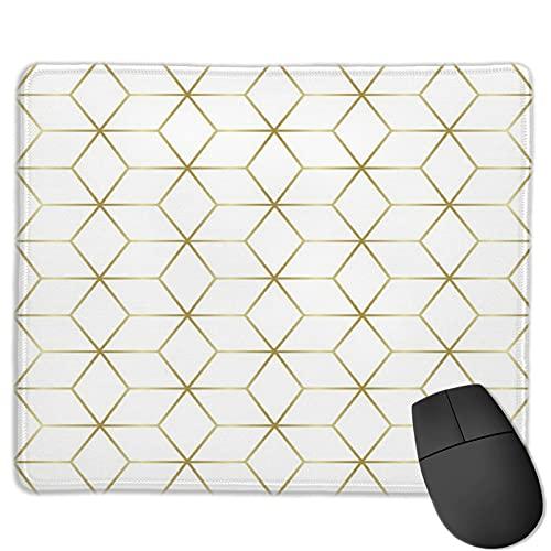 Alfombrilla de ratón para juegos personalizada,Diseño de azulejos de estrella de mosaico de má,Alfombrilla rectangular de goma antideslizante para oficina para computadoras portátiles de 9.8'x 11.8'