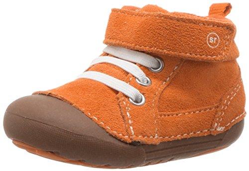 Stride Rite Baby Soft Motion Danny Ankle Boot, Orange, 6 Medium US Toddler