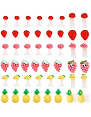 PIXNOR 32 Piezas Separadores de Dedos para Uñas Flor Margarita Separador de Dedos de Silicona Esmalte de Uñas Espaciador de Dedos Divisor de Pedicura Salón DIY Herramienta