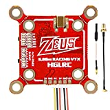 Hankermall FPV Sender: HGLRC Zeus VTX 5.8GHz Built-in Microphone Switchable VTX via Betaflight for Racing Drone RC Drones Quadcopter Toothpick (SMA)
