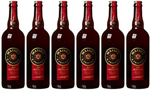 Maisel & Friends Jeff's Bavarian Ale Weizenstarkbier, MEHRWEG (6 x 0.75 l)