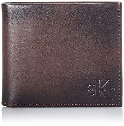 Calvin Klein ck jeans Billfold W/Coin, Carteras Hombre, Marrón Amargo, OS