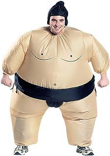 Inflatable Costume Sumo Wrestler Wrestling Suit Halloween Party Cosplay Costumes