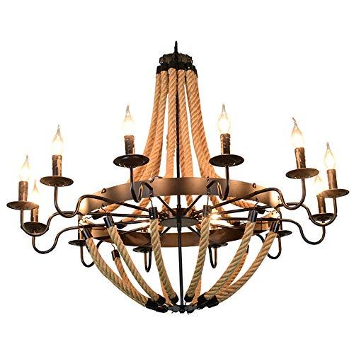 DKORP Lámpara de Cristal Barra de iluminación de Techo de la Vendimia Retro lámpara de la decoración del hogar Iluminación