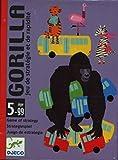 Djeco- Juegos de Cartas Gorilla, Multicolor (DJ05123)