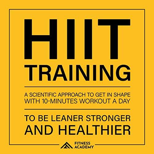 Page de couverture de Hiit Training and Workout Motivation