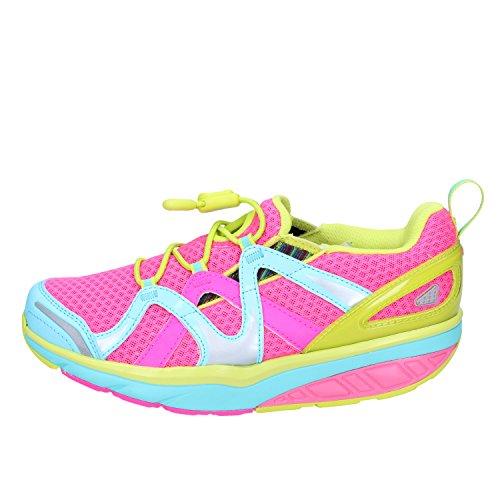 MBT AFIYA Slips Sneaker Donna Tessuto Rosa 35 EU