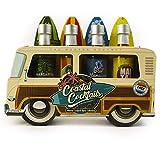 Modern Gourmet Foods, Miscele per cocktail estivi in Bus di Legno, Confezione da 4 Pezzi: ...