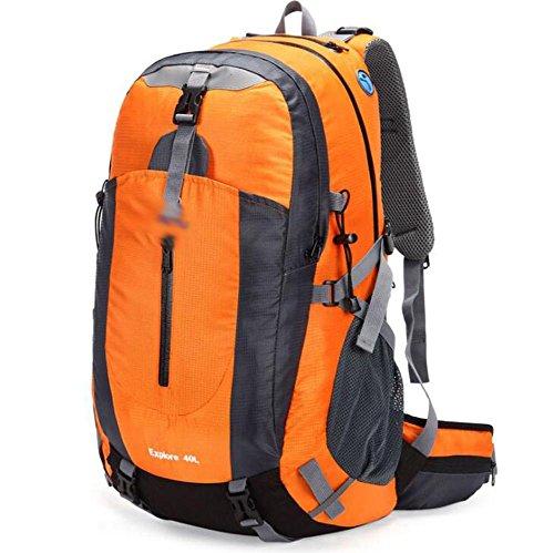 SZH&BEIB Sac à dos en plein air 40L randonnée multifonction paquet alpinisme unisexe Voyage , D