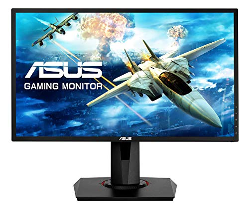 "Asus VG248QG 24"" G-Sync Compatible Gaming Monitor 165Hz Full HD 1080P 0.5ms DP HDMI DVI Eye Care (Renewed)"