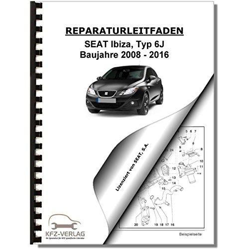 SEAT Ibiza Typ 6J (08-16) 3-Zyl. 1,2l Benzinmotor 60-75 PS - Reparaturanleitung