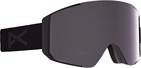 Anon Men's Sync Goggle with Spare Lens - Asian Fit, Black/Perceive Variable Blue