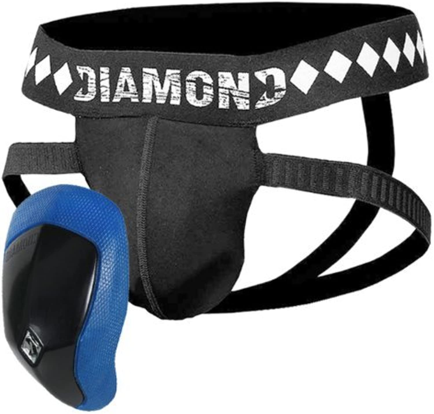 Diamond MMA 4 Strap Supporter Jock and Cup